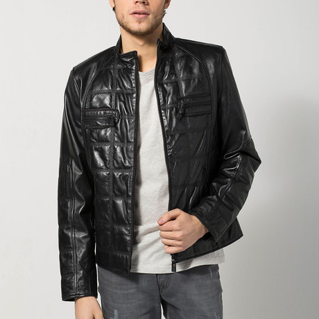 Cambridge Leather Jacket // Black (S)