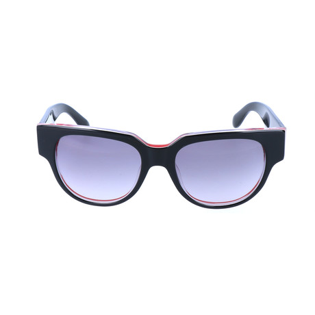 Maxime Sunglass // Black + Red
