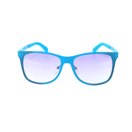 Timothee Sunglass // Crystal + Turquoise