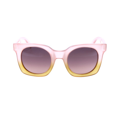 Axel Sunglass // Pink + Yellow + Grey