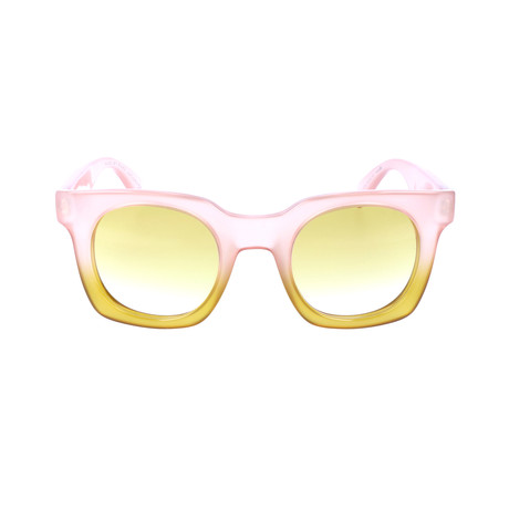 Axel Sunglass // Pink + Yellow