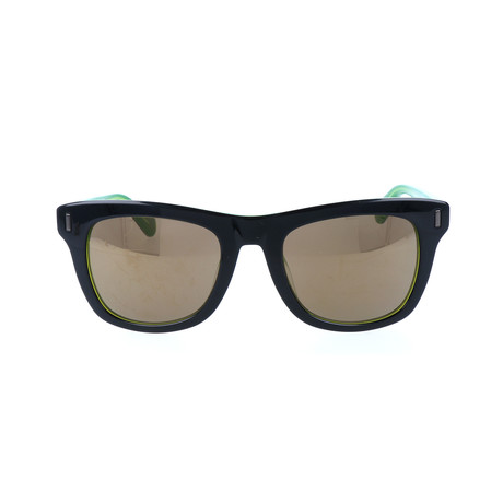 Hugo Sunglass // Black + Green