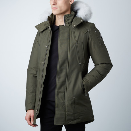 Stirling Parka // Olive (XS)