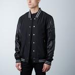 Heather Leather Jacket // Black (XS)