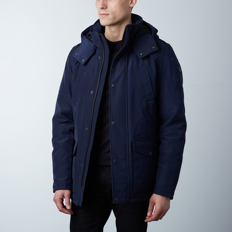 Yellowknife Parka // Midnight Navy (XS)