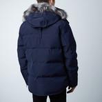 Algonquin Jacket // Midnight Navy + Black Fur (XS)