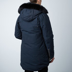 Stirling Parka // Navy + Black (XS)
