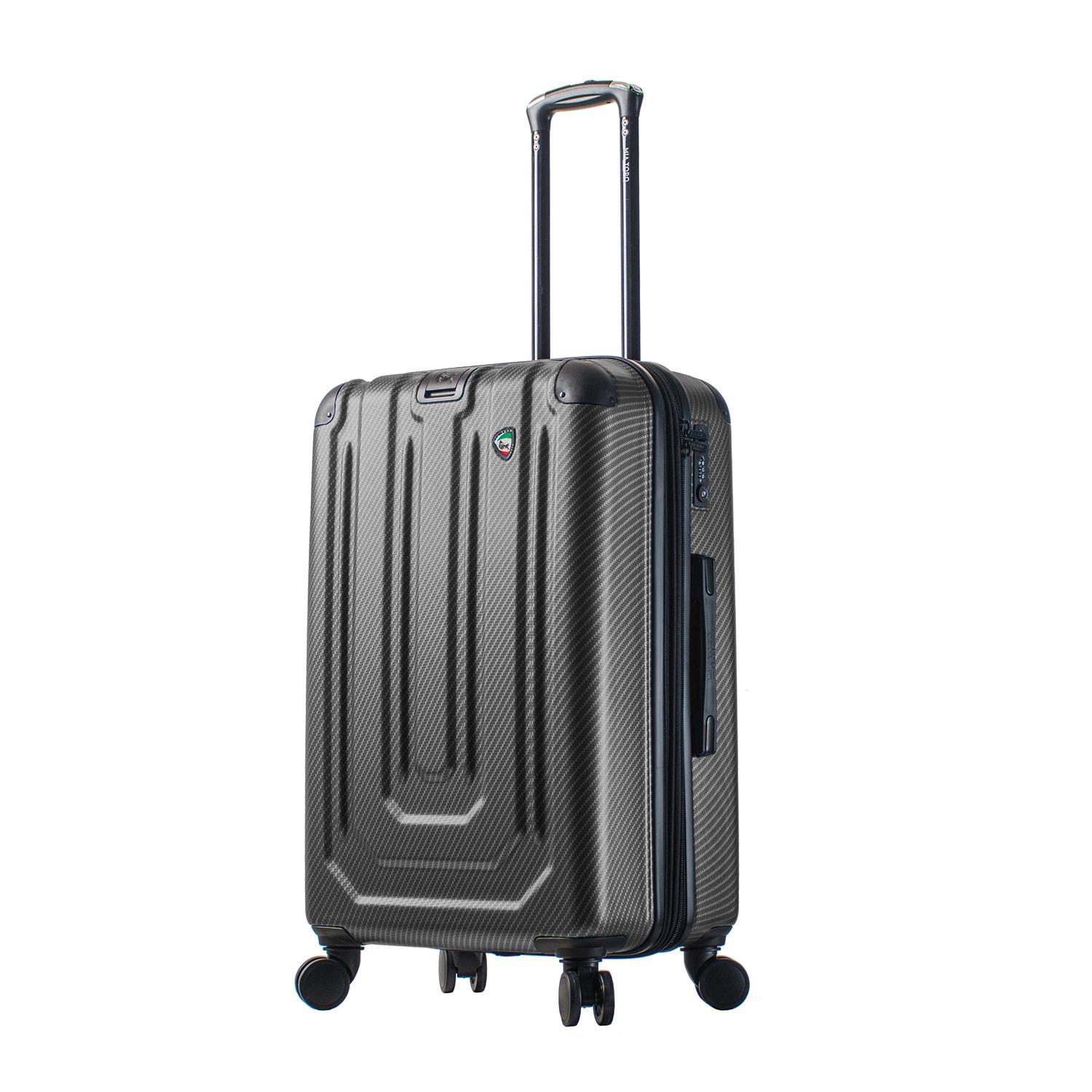 angolo luggage 3 piece set blue   hontus   touch of modern