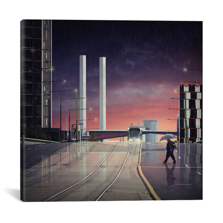 "Beyond The Bolte // Adrian Donoghue (18""W x 18""H x 0.75""D)"