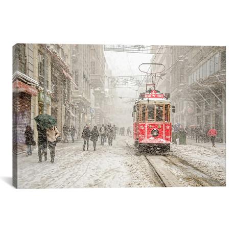 """Beyoglu, Istanbul, Turkey (18""""W x 26""""H x 0.75""""D)"""