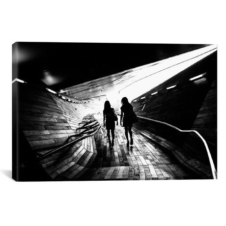 "Walking Towards The Light (18""W x 26""H x 0.75""D)"