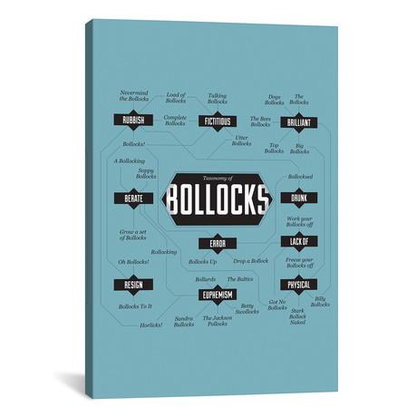 """Bollocks (26""""W x 18""""H x 0.75""""D)"""