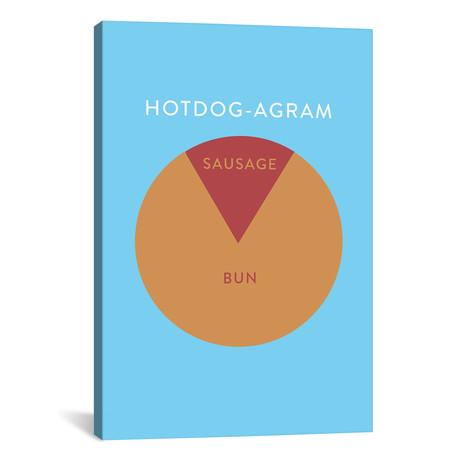 """Hotdog (26""""W x 18""""H x 0.75""""D)"""