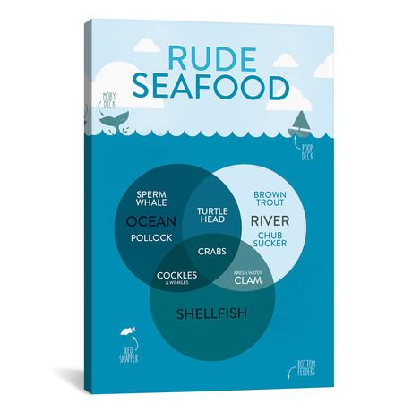 """Seafood (26""""W x 18""""H x 0.75""""D)"""