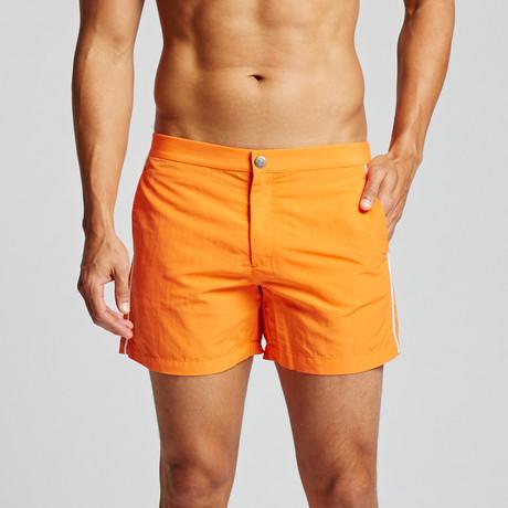 "Grosgrain Newport 5"" Trunk // Orange (29)"