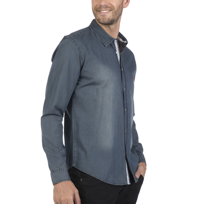 Pata Button Up Shirt Navy 3xl Sir Raymond Tailor
