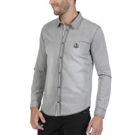 Pata Button Up Shirt // Grey (S)