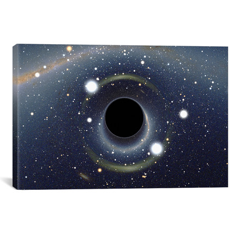 "Black Hole MAXI Absorbing a Star; XMM-Newton Space Telescope (18""W x 26""H x 0.75""D)"