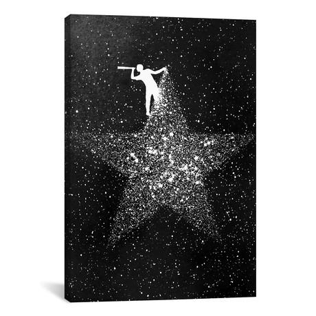 """Star Gazing (26""""W x 18""""H x 0.75""""D)"""