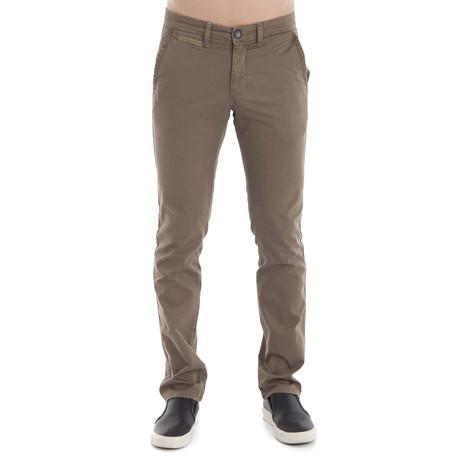 Green Pants // Camel (31WX32L)
