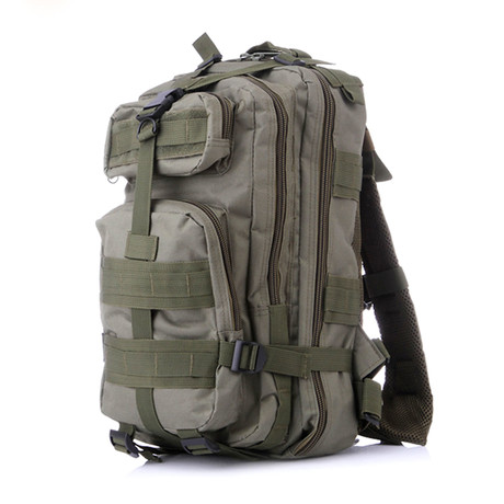 Something Tactical Military Backpack // Green