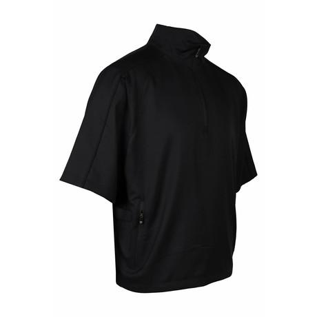 Zephyr 1/2 Sleeve Pullover  // Black (S)