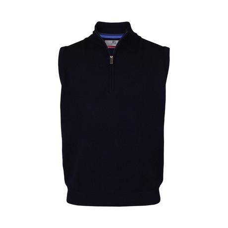 Merino slipover Vest // Navy (S)