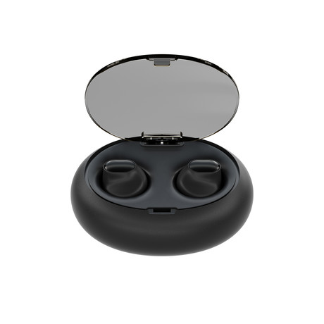 Ascend-1 Truly Wireless Earbuds // Black (iOS)