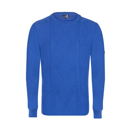 Knit Pullover // Sax (XS)