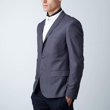 Geneva Slim Fit Blazer // Med Melange (Euro: 44)