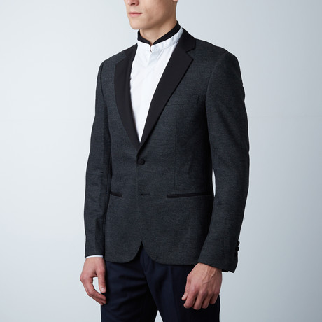 Mendel Super Slim Fit Blazer // Dark Melange (Euro: 44)