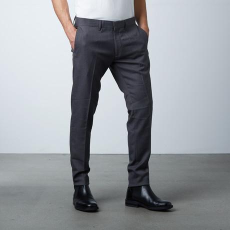 Quan Slim Fit Pant // Dark Melange (44)