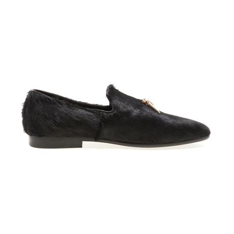 Lanister Fur Loafer // Black (US: 8)