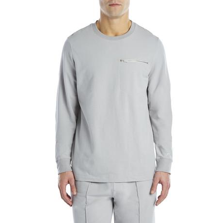 Modern Classic Sweatshirt // Cement