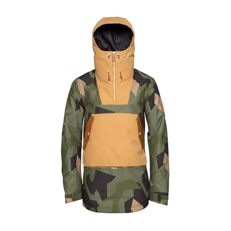 Wear Anorak // Men's Snow Jacket // Olive (XS)