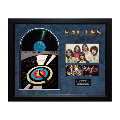 Eagles // Signed Album