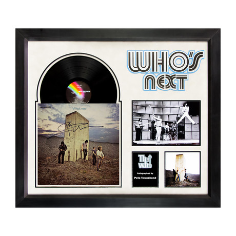 The Who // Signed Album