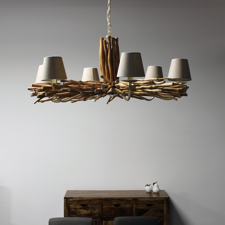 Chandelier Lamp + 6 Lights
