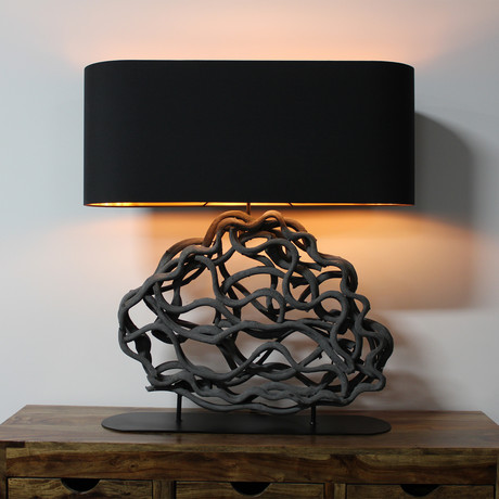 Abstract Cloud Lamp
