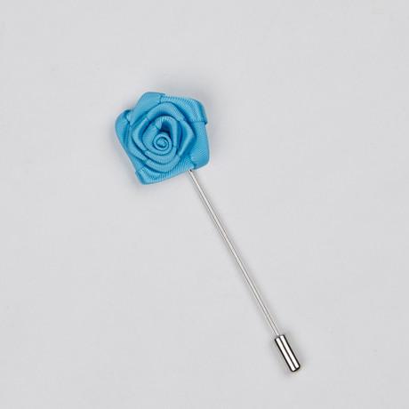 Lapel Flower // Blue Mini