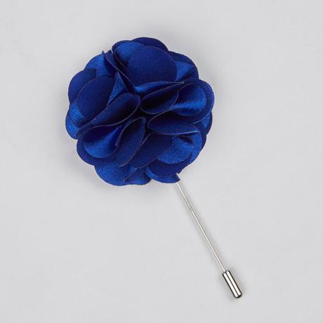 Lapel Flower // Blue Bloom II