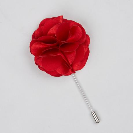 Lapel Flower // Red Bloom II