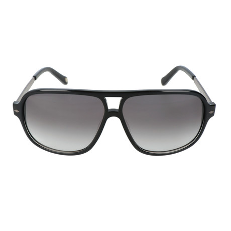 Richardson Sunglass // Black + Dark Ruthenium