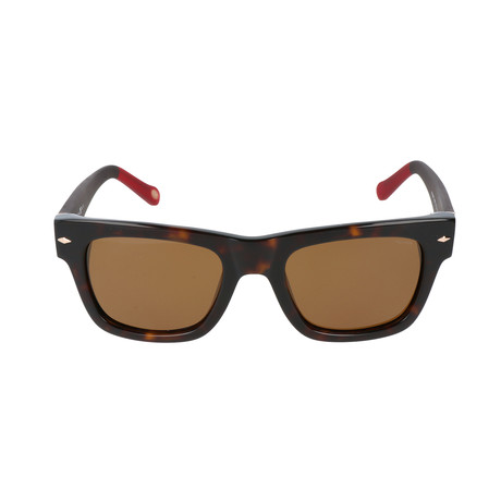 Walsh Sunglass // Dark Havana + Matte Brown