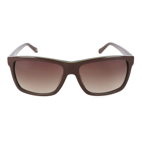 Lawrence Sunglass // Brown