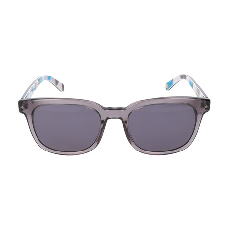 Price Sunglass // Grey + Blue