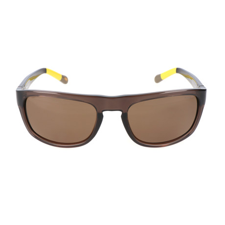 Perry Sunglass // Brown + Yellow