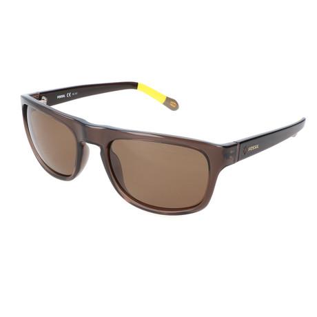Men's Perry Sunglasses // Brown + Yellow