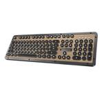 Azio Retro Classic Mechanical Keyboard // Bluetooth (Elwood)