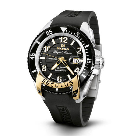 Seculus Royal Marine Automatic // 3441.7.2824 SIL  SSY  B